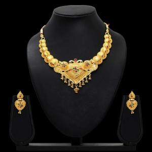 Conjunto hindu dorado